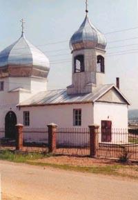 Церковь с. Куйтун